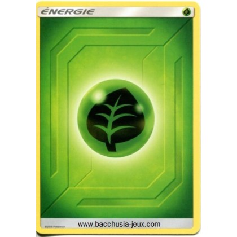 10 Cartes Pokémon Energie Plante série 2