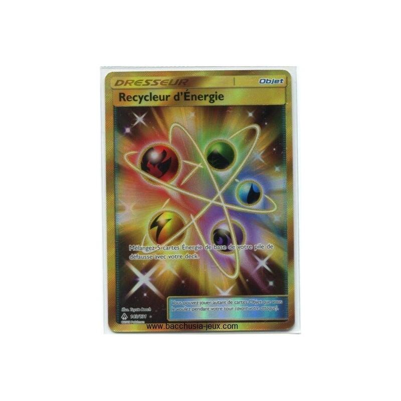 Cartes Pokémon SL6 143/131 Recycleur d'Energie Secrète