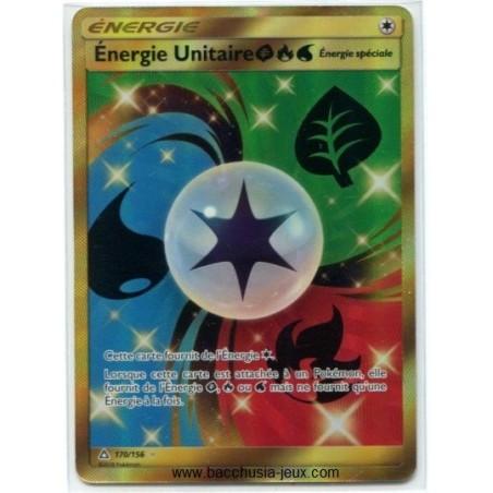 Cartes Pokémon SL5 170/156 Energie Unitaire Secrete