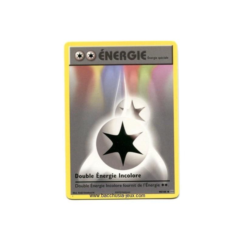 Carte Pokemon XY12 Double Energie Incolore 90/108
