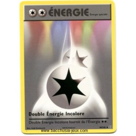 Carte Pokemon XY12 Double Energie Incolore 90/108