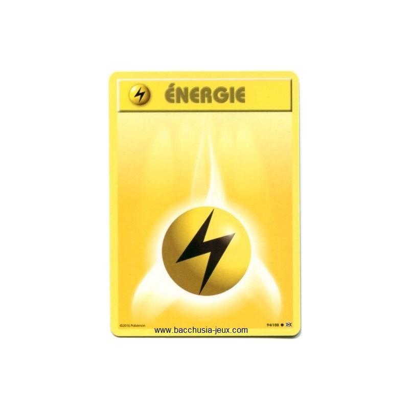 Carte Pokemon XY12 Energie Electricité 94/108