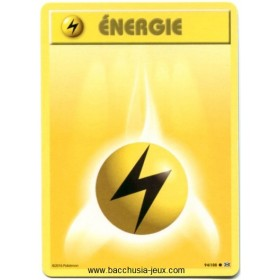Carte Pokemon XY12 Energie Electricité 94/108