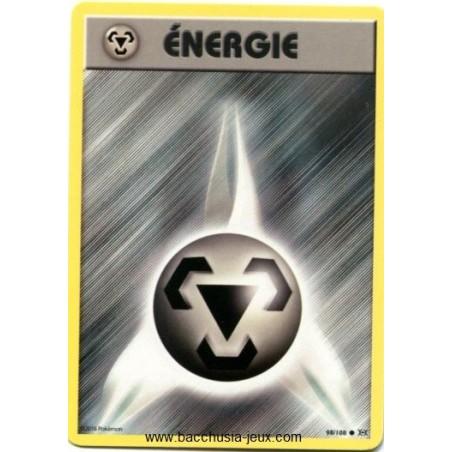 Carte Pokemon XY12 Energie Métal 98/108