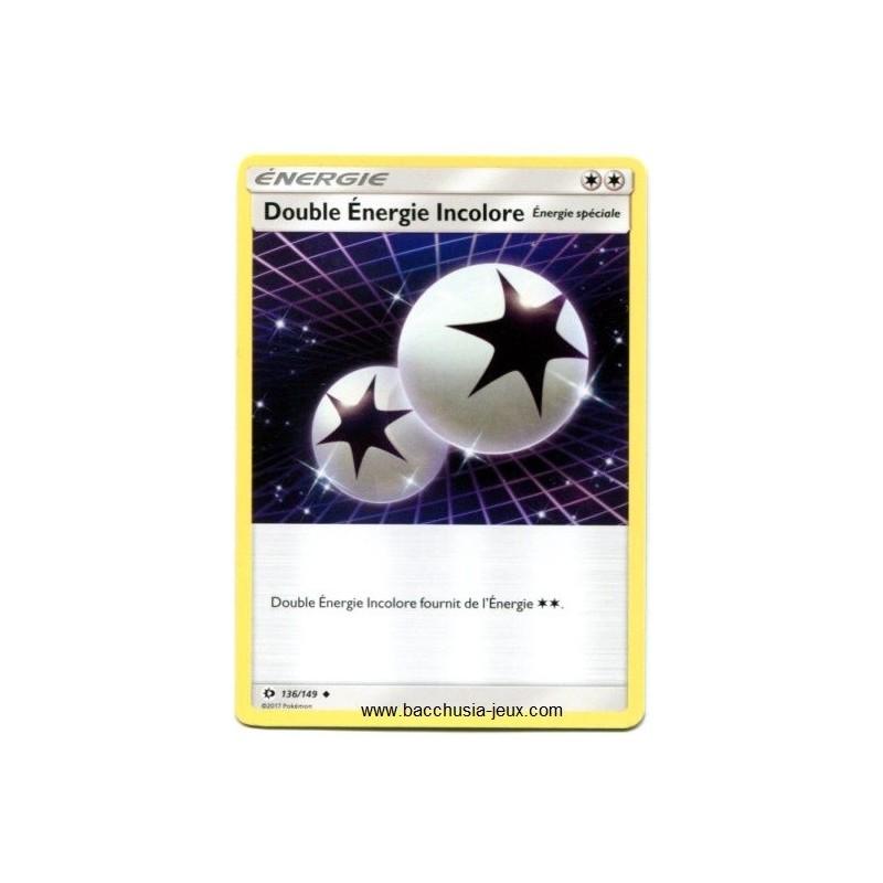 Carte Pokemon SL1 Double Energie Incolore 136/149