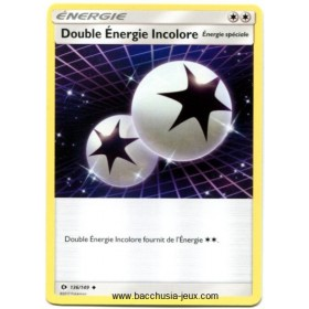 Carte Pokemon SL1 Double Energie Incolore 136/149