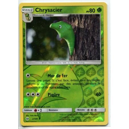 Carte Pokemon SL1 2/149 Chrysacier Reverse