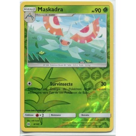 Carte Pokemon SL1 8/149 Maskadra Reverse
