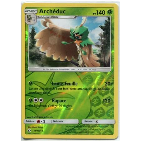 Carte Pokemon SL1 11/149 Archéduc Reverse