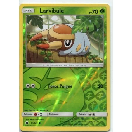 Carte Pokemon SL1 13/149 Larvibule Reverse