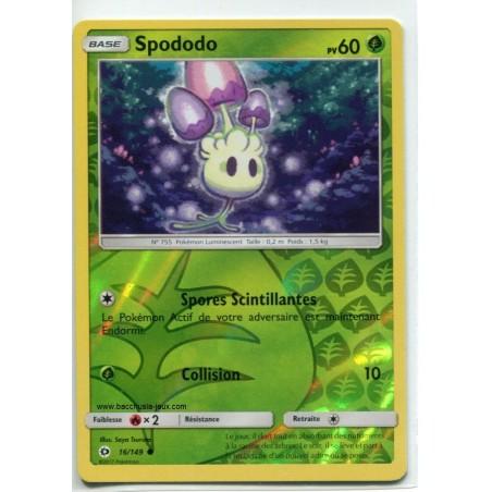 Carte Pokemon SL1 16/149 Spododo Reverse
