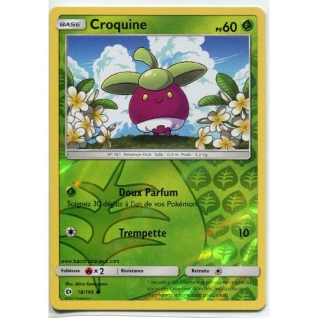 Carte Pokemon SL1 18/149 Croquine Reverse