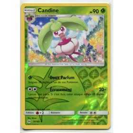 Carte Pokemon SL1 19/149 Candine Reverse