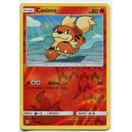 Carte Pokemon SL1 21/149 Caninos Reverse
