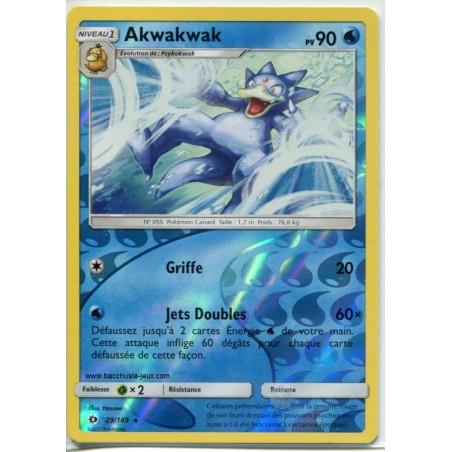Carte Pokemon SL1 29/149 Akwakwak Reverse