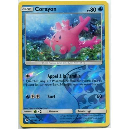 Carte Pokemon SL1 36/149 Corayon Reverse
