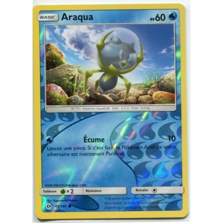 Carte Pokemon SL1 45/149 Araqua reverse