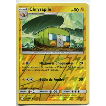 Carte Pokemon SL1 51/149 Chrysapile Reverse