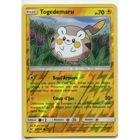 Carte Pokemon SL1 53/149 Togedemaru Reverse