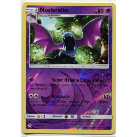 Carte Pokemon SL1 55/149 Nosferalto Reverse