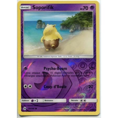 Carte Pokemon SL1 59/149 Soporifik Reverse