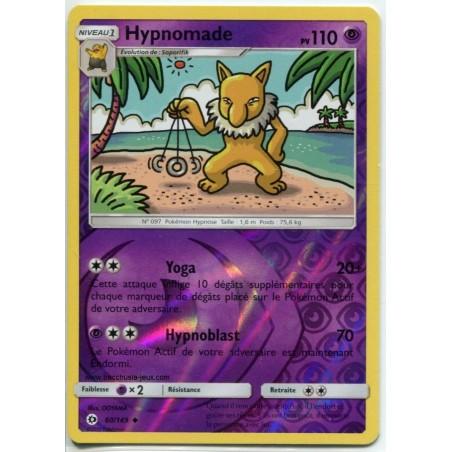 Carte Pokemon SL1 60/149 Hypnomade Reverse