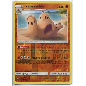 Carte Pokemon SL1 75/149 Trepassable Reverse
