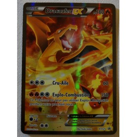 Carte Dracaufeu EX XY121 Collection pokemon coffret rouge et bleu