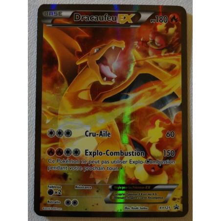 Carte Dracaufeu EX XY121 Collection pokemon coffret rouge et bleu