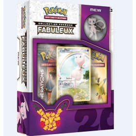 Coffret Mew Collection Pokémon Fabuleux 20 ans