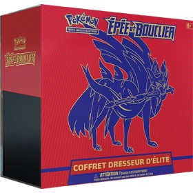 Pokemon Coffret ETB Zacian - Elite Trainer Box EB01 -Epée et Bouclier