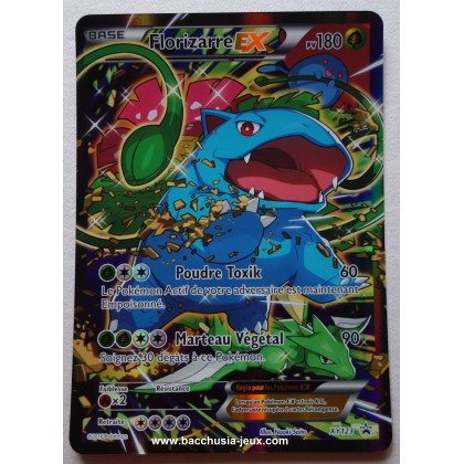 Carte Florizarre EX XY123 Collection pokémon coffret rouge et bleu