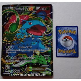 Carte Jumbo Florizarre EX XY123 Collection pokemon coffret rouge et bleu