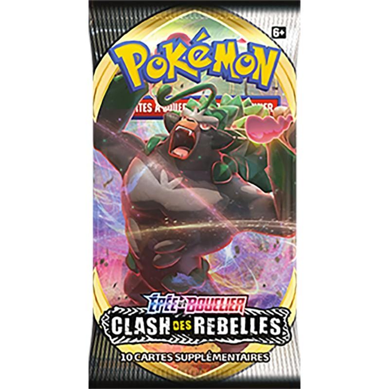 Pokémon 1 Booster EB02 Clash des Rebelles