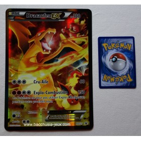 Carte Jumbo Dracaufeu EX XY121 Collection pokemon coffret rouge et bleu