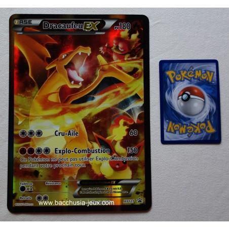 Carte Jumbo Dracaufeu EX XY121 Collection pokemon coffret rouge et bleu