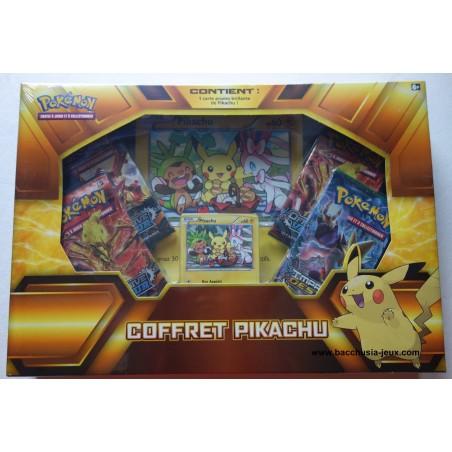 Pokémon Coffret Noël Pikachu avec sa carte Promo XY95