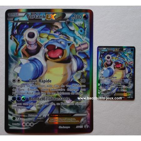 Cartes Pokemon Tortank EX XY122 Normale+Jumbo (Collection rouge et bleu)