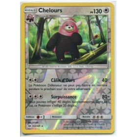 Carte Pokemon SL1 112/149 Chelours Reverse