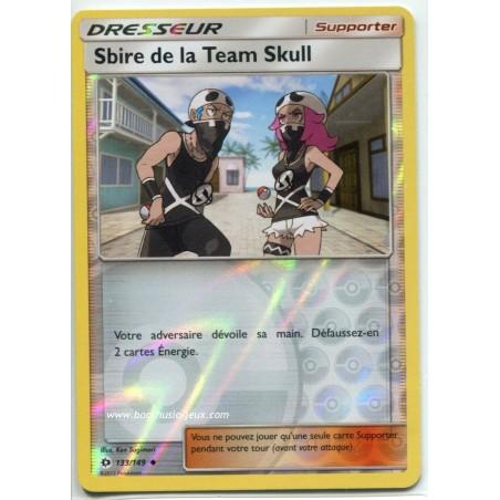 Carte Pokemon SL1 133/149 Sbire de la Team Skull reverse