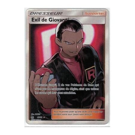 Carte Pokemon SL11.5 67/68 Exil de Giovanni