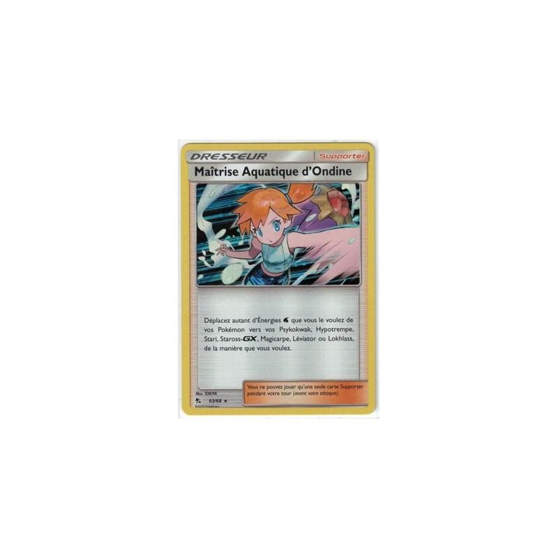 Carte Pokemon SL11.5 Maitrise Aquatique d'Ondine