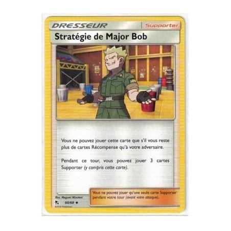 Carte Pokemon SL11.5 60/68 Stategie de Major Bob