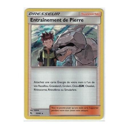 Carte Pokemon SL11.5 55/68 Entrainement de Pierre Holo