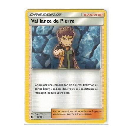 Carte Pokemon SL11.5 53/68 Vaillance de Pierre