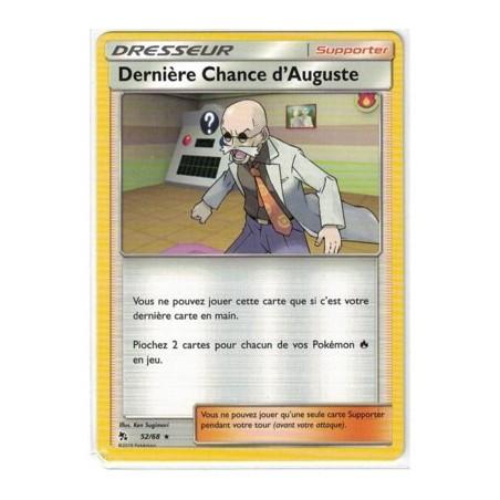 Carte Pokemon SL11.5 52/68 Derniere Chance d'Auguste