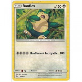 Carte Pokemon SL11.5 50/68 Ronflex