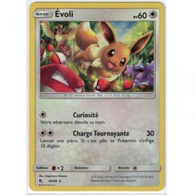 Carte Pokemon SL11.5 48/68 Evoli Holo