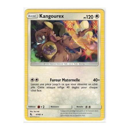 Carte Pokemon SL11.5 47/68 Kangoureux