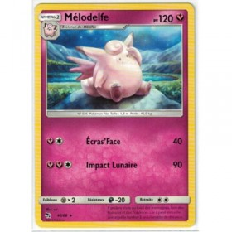Carte Pokemon SL11.5 40/68 Melodelfe